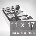 11x17  Black & White
